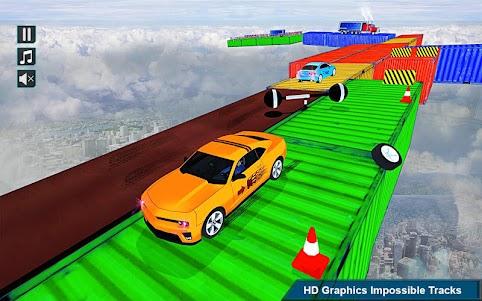 Impossible Stunt Space Car Racing 2018 1.0 screenshot 4