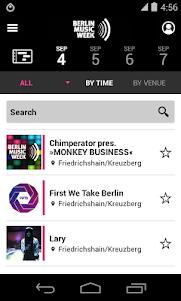 Berlin Music Week 2014 2.0.0 screenshot 3