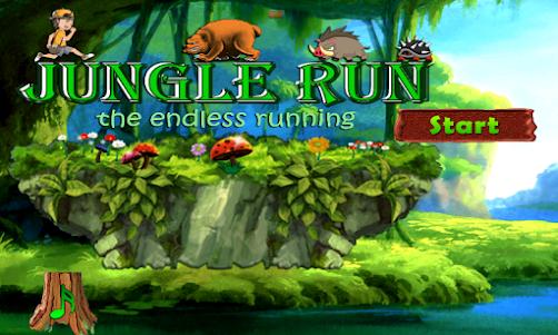 Amazing Jungle run 3.0 screenshot 2
