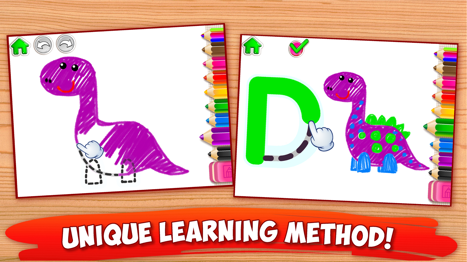 Abc Draw Alphabet Games Preschool Kids Drawing   Apk