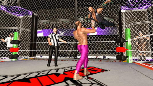 Chamber Wrestling Elimination Match: Fighting Game 1.2 screenshot 3