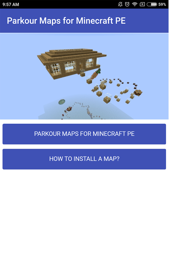 MINECRAFT SERVER LIST PE PARKOUR - Parkour Spiral 2