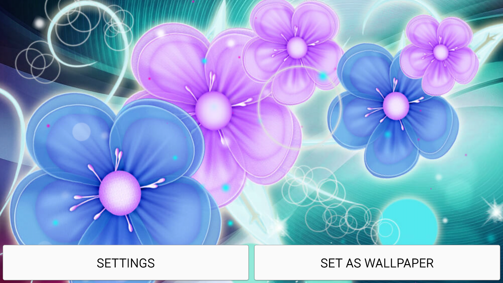 neon flower live wallpaper 4 0 apk download android