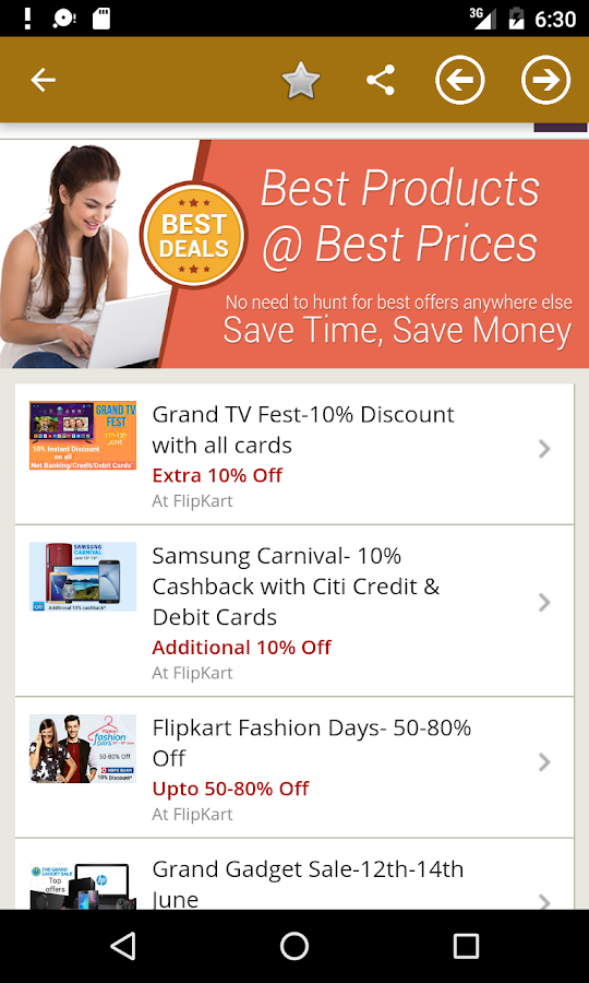 ... Shopping Hub India : All in One Online Shopping Ap 10.0.1 screenshot 5  ...