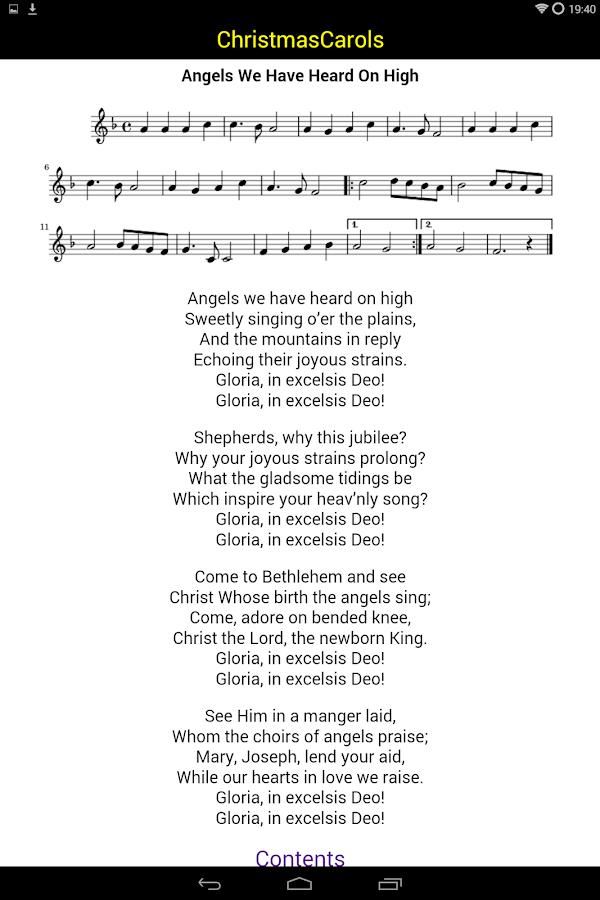 Christmas Carols Lyrics Midis 5 0 APK Download - Android Music