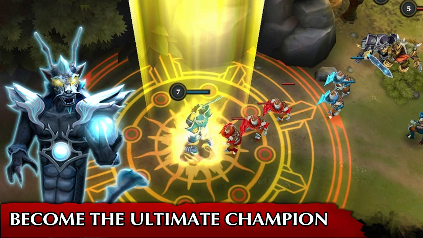 Legendary Heroes MOBA 3 0 52 APK Download - Android Role Playing Games