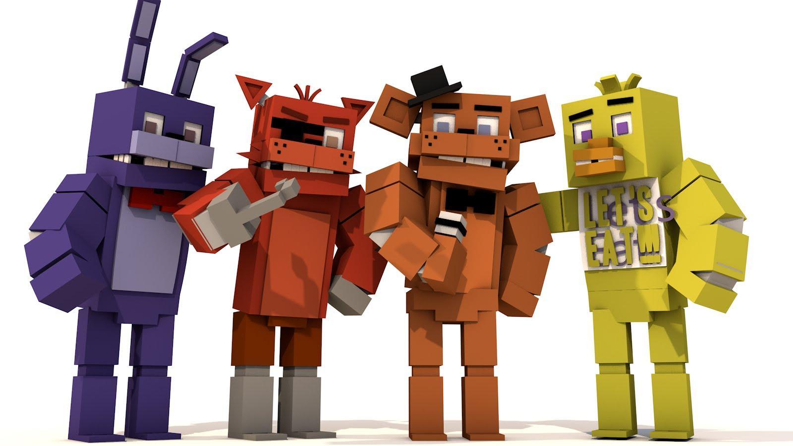 Skins For Minecraft PE FNAF APK Download Android - Skins para minecraft pe de fnaf