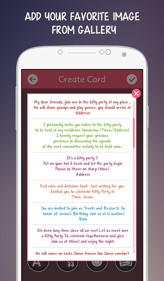 Kitty party invitations 105 apk download android photography apps kitty party invitations 105 screenshot 10 stopboris Images