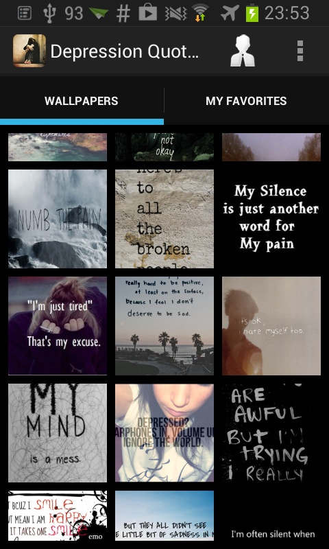 Depression Quotes Wallpapers 1 0 Apk Download Android Books