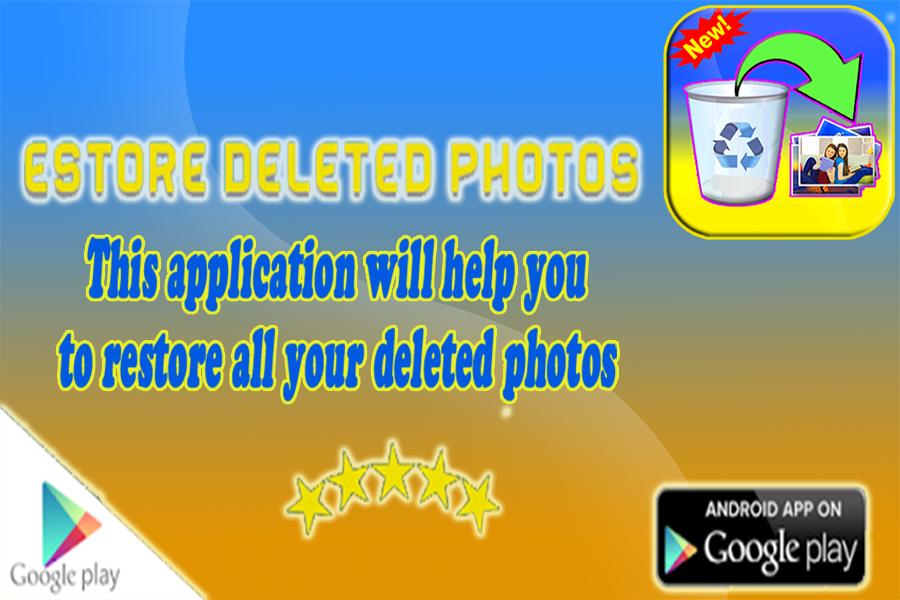 Restore my deleted photos app 1 0 APK Download - Android