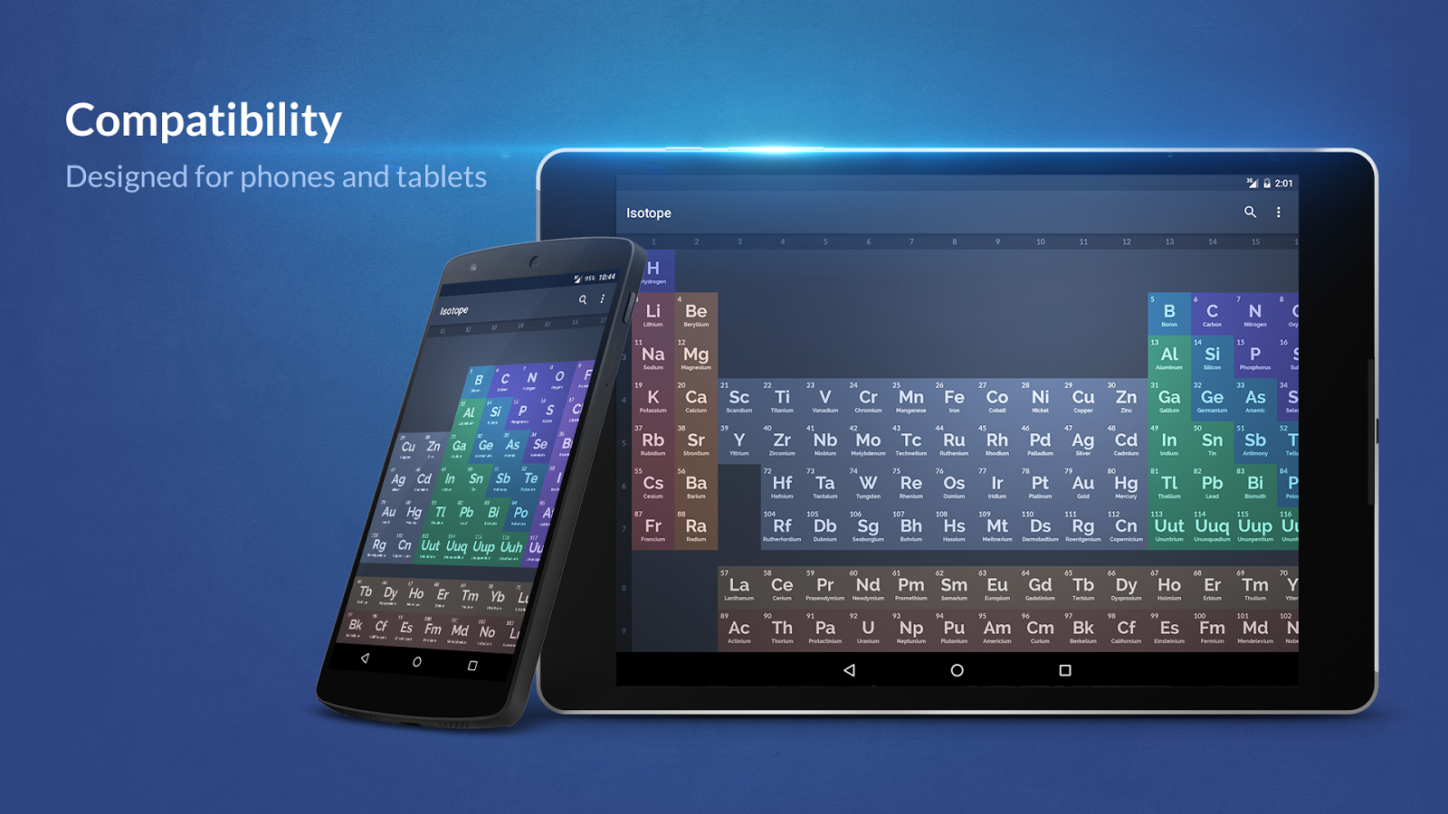 Isotope periodic table 1143 apk download android education apps isotope periodic table 1143 screenshot 5 urtaz Choice Image