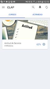 Aprendizaje Móvil - CLAP 1.0 screenshot 1