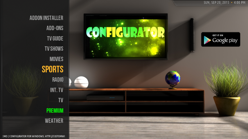 configurator for kodi 11 8 apk download   android cats
