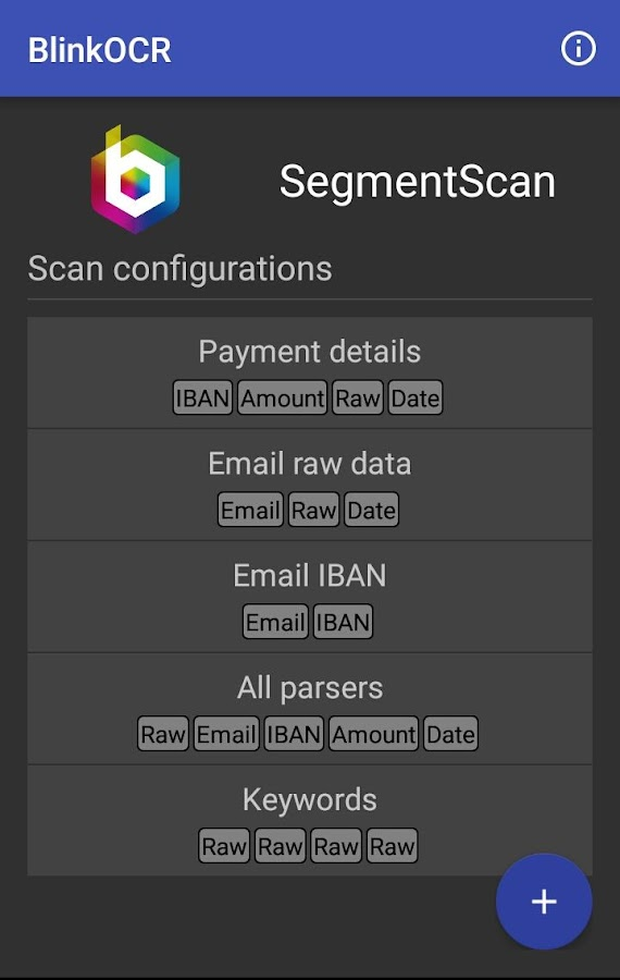 BlinkOCR Scanner 1 1 0 APK Download - Android Libraries