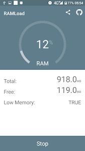 Max-RAM: Fill-Up RAM Simulator 1.0.5 screenshot 2