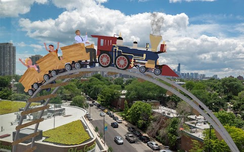 City Roller Coaster Sim 3d 1.0.2 screenshot 3