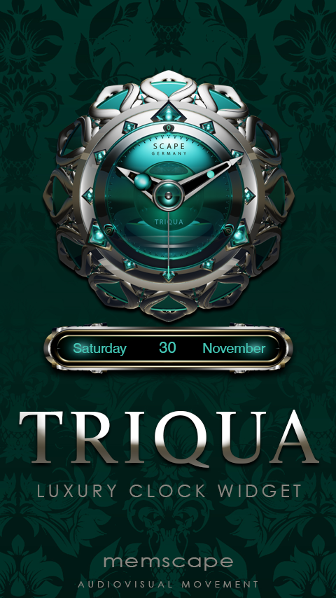 TRIQUA Analog Clock Widget 2 81 APK Download - Android Lifestyle Apps