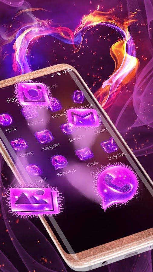 Magic Fire Mobile Theme 1 1 3 APK Download - Android Personalization