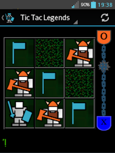 Tic Tac Legends 2.0 screenshot 1