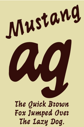 Mustang Pro FlipFont 1 0 APK Download - Android