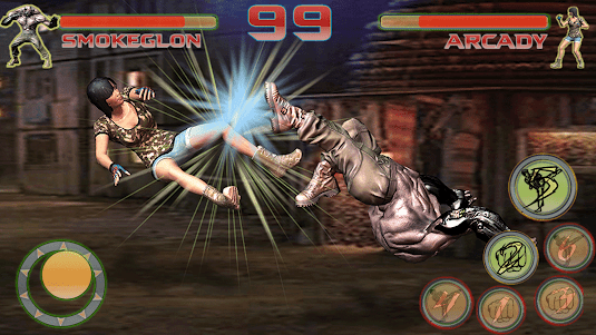 Shadow Ninja Kung Fu Fight 3D 1 screenshot 11