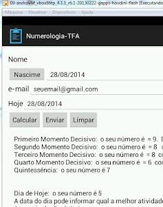 Numerologia-TFA 1.0 screenshot 5