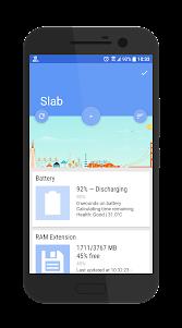Slab Dashclock Host 1.0 screenshot 1