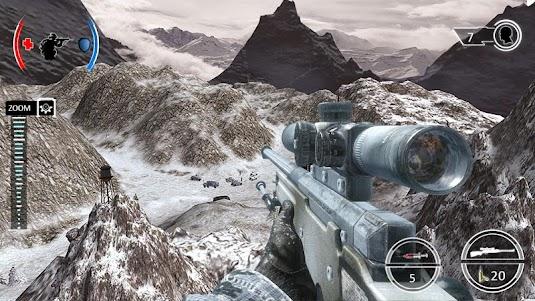 Mountain Sniper Shooting: 3D FPS 7.6 screenshot 1