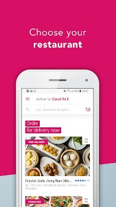 foodpanda - Local Food Delivery 5.6.1 screenshot 1