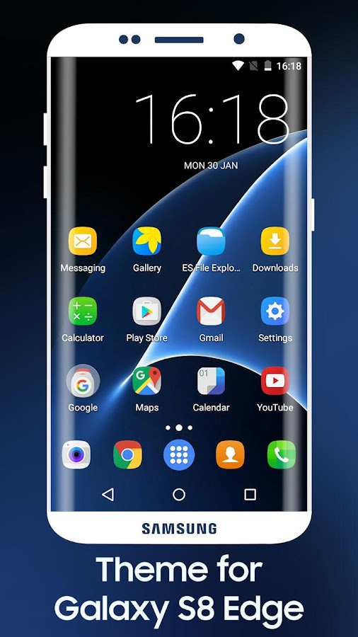 S8 Edge Theme 1 0 APK Download - Android Personalization Apps