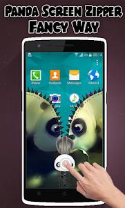 Panda Lock Screen Zipper 1.2 screenshot 3