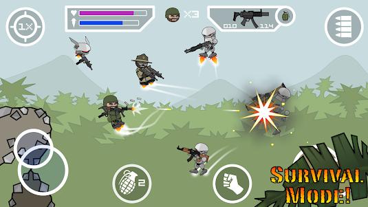 Doodle Army 2 : Mini Militia 5.3.7 screenshot 8