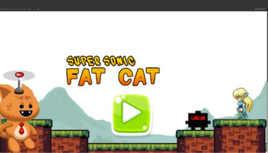 Super Sonic Fat Cat 4 screenshot 1