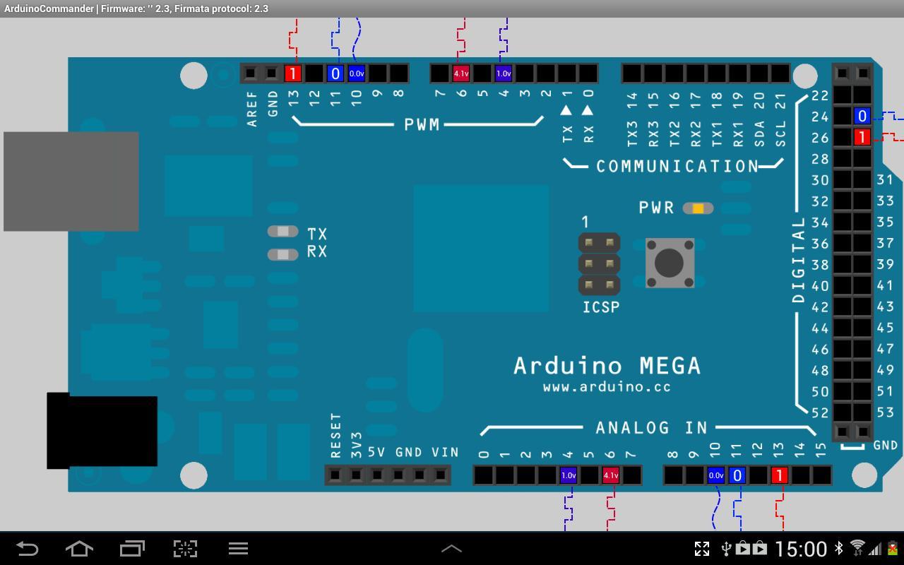 Arduinocommander 422 Apk Download Android Tools Apps Wiring Arduino Mega Screenshot 1 2