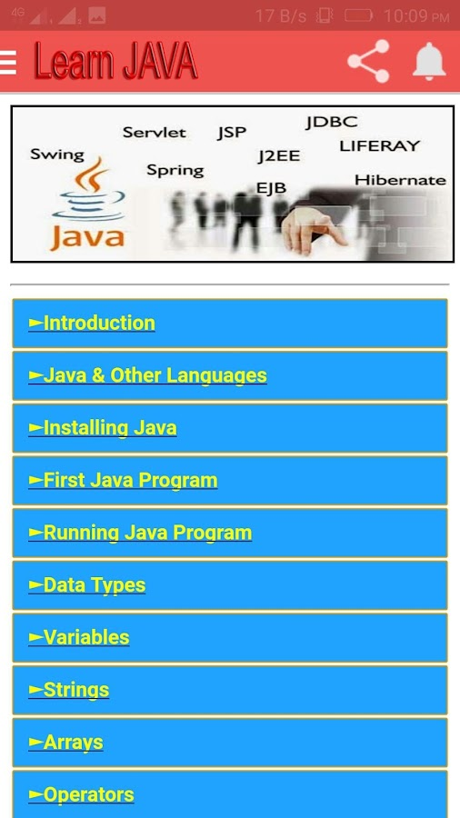 Learn JAVA in Hindi 6 8 APK Download - Android Education Apps