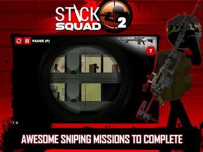 Stick Squad 2 - Shooting Elite 1.3.3 screenshot 10