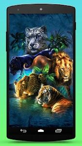 Big Cats Live Wallpaper 1.4 screenshot 3