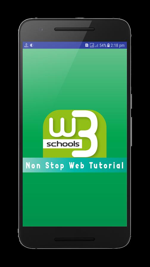 W3Schools Online Web Tutorials 1 08 APK Download - Android