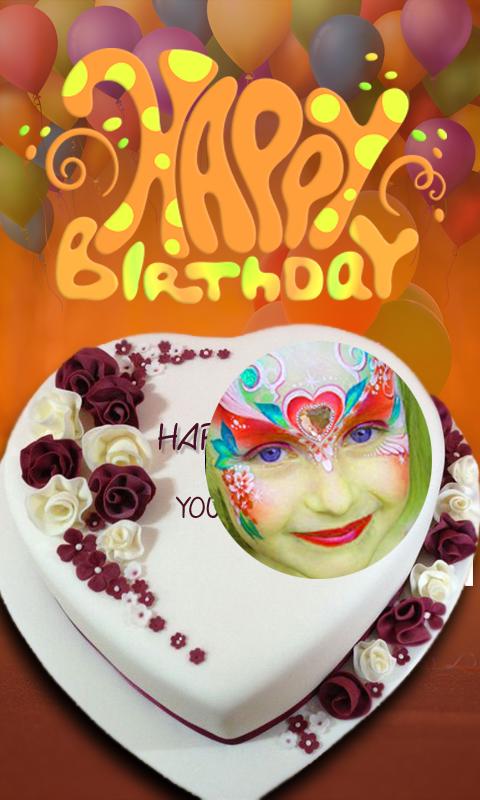 Birthday Cake Photo Editor 10 Screenshot 1