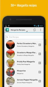 Refreshing Margarita Recipes 1.0 screenshot 2
