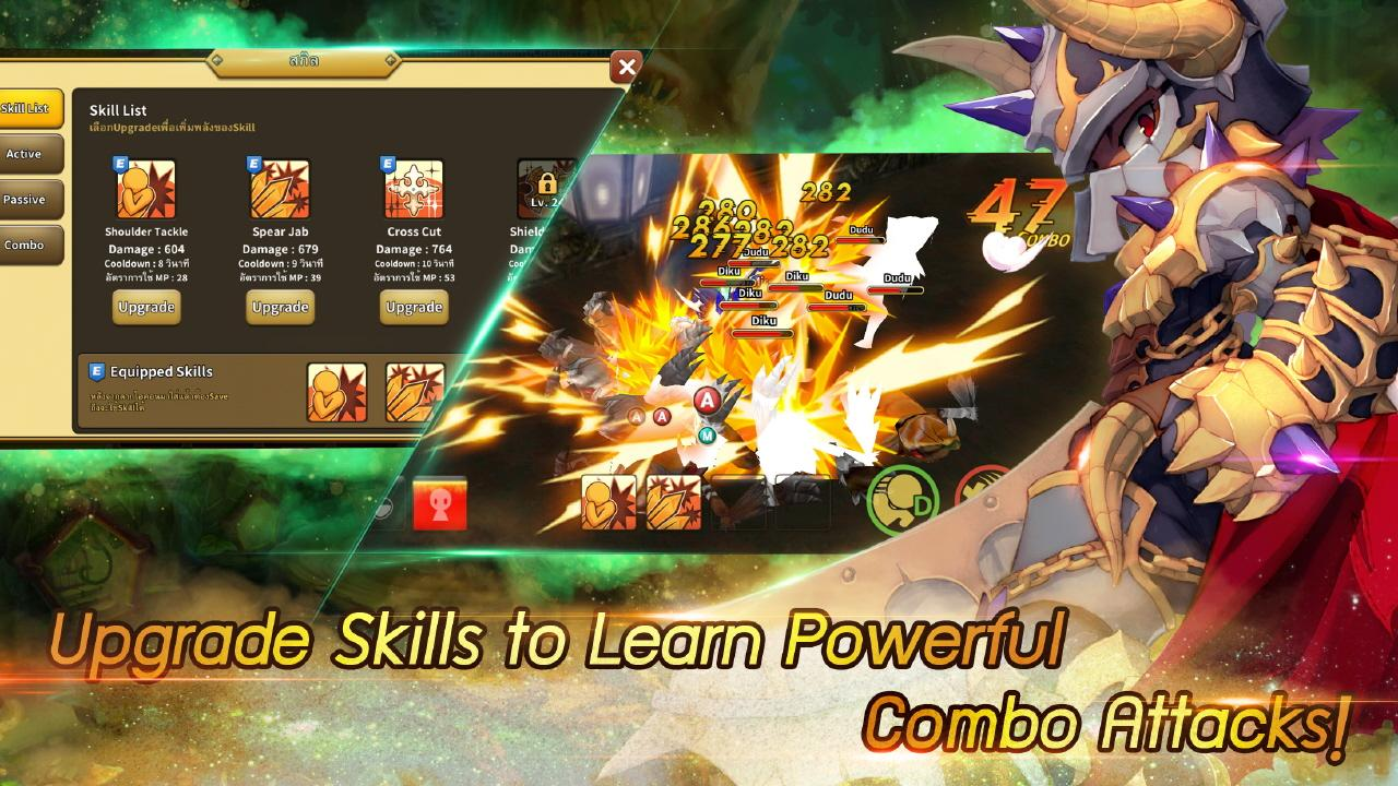 Dragonica Android Gameplay