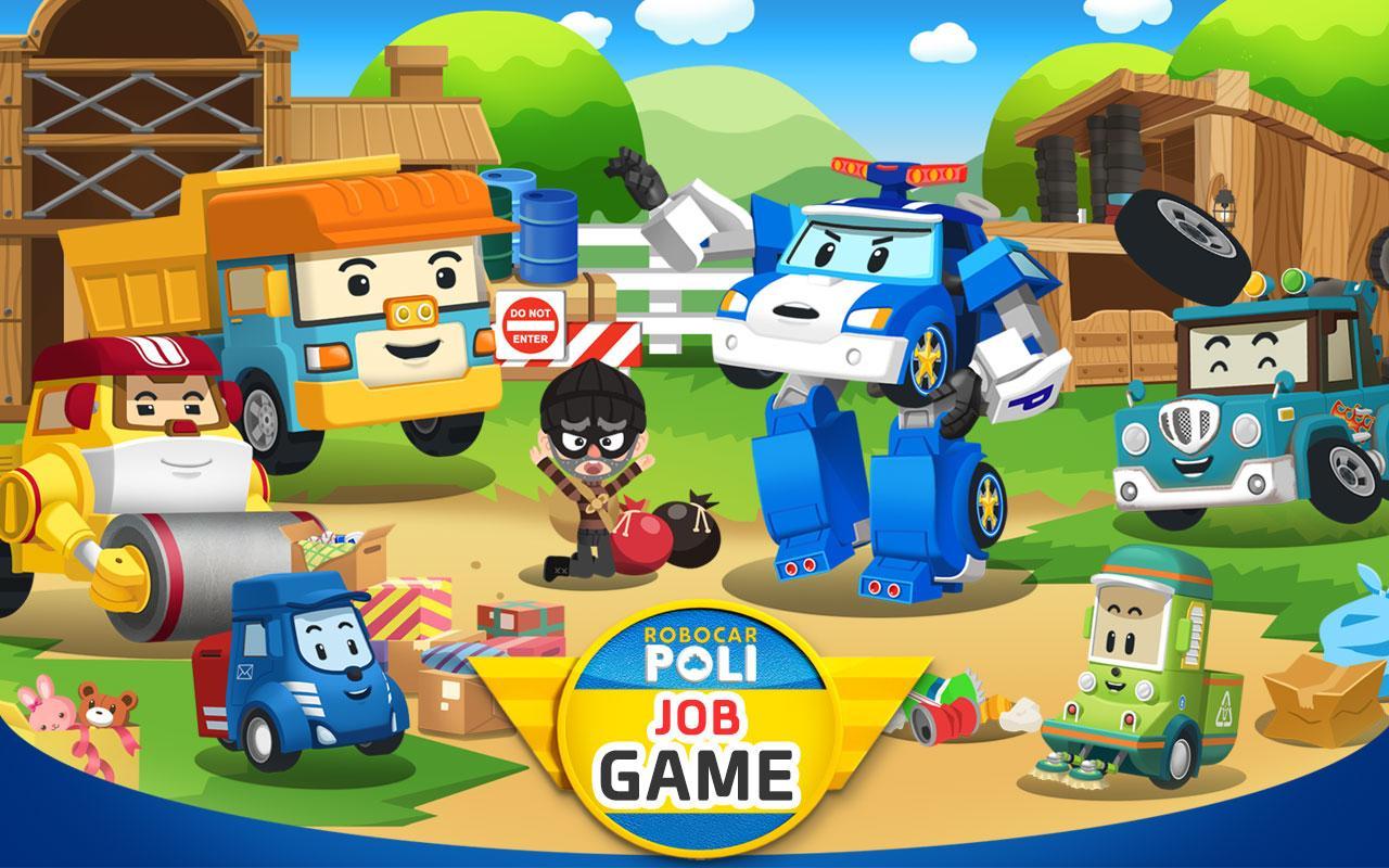 Robocar Poli Job - Kids Game Package 1 1 0 APK + OBB (Data