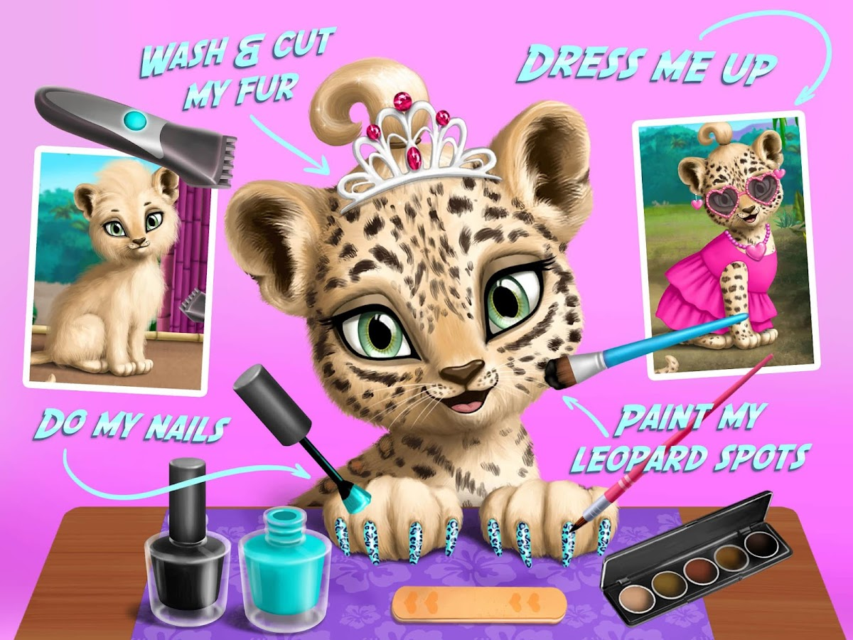 Jungle Animal Hair Salon Wild Pets Makeover 10115 Apk Download