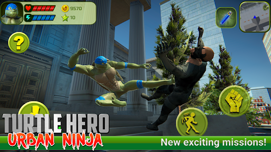 Turtle Hero: Urban Ninja 6.0.0 screenshot 1