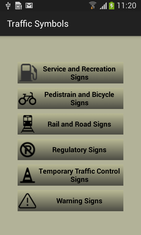 Traffic Symbols And Meaning 10 Apk Download Android Lifestyle Games