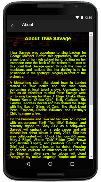 Tiwa Savage Song Lyrics 1 0 APK Download - Android