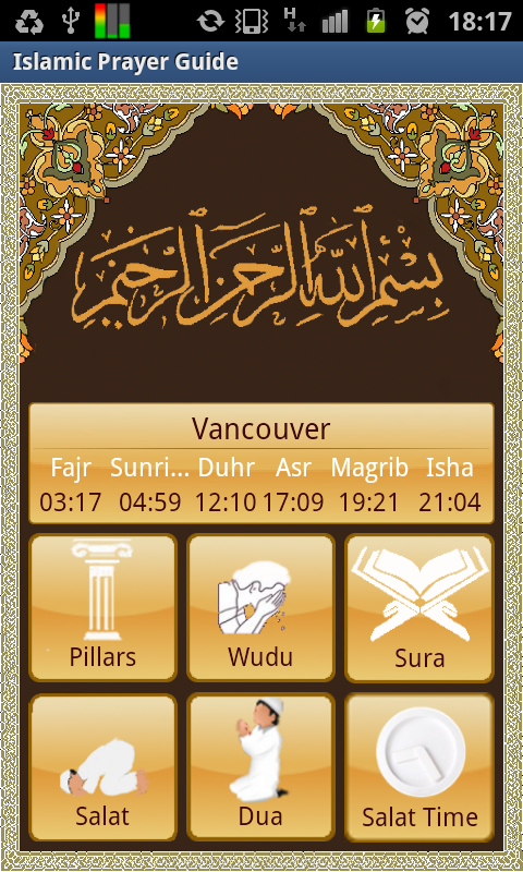 Islamic Prayertime Sura 107 Apk Download Android Education Apps
