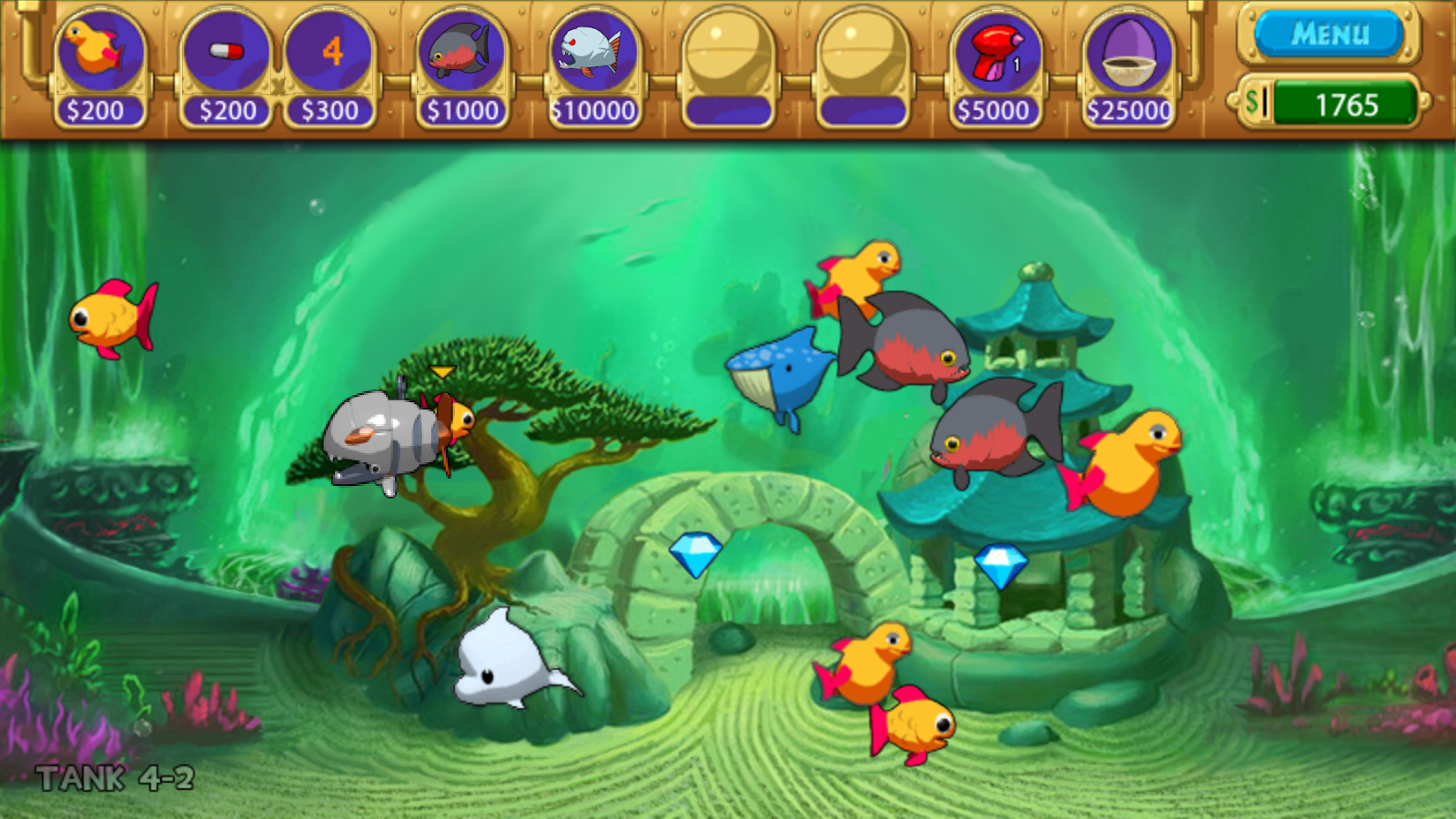 InseAqurium Deluxe - Feed Fishes! Fight Aliens! 3 9 2 APK