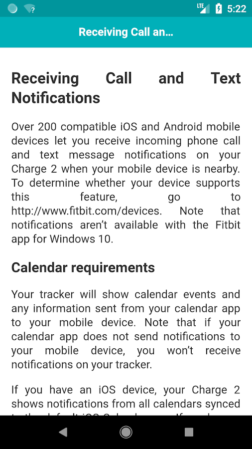 User Guide for Fitbit Charge 2 1 0 APK Download - Android