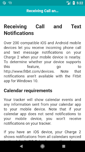 User Guide for Fitbit Charge 2 1 0 APK Download - Android Health